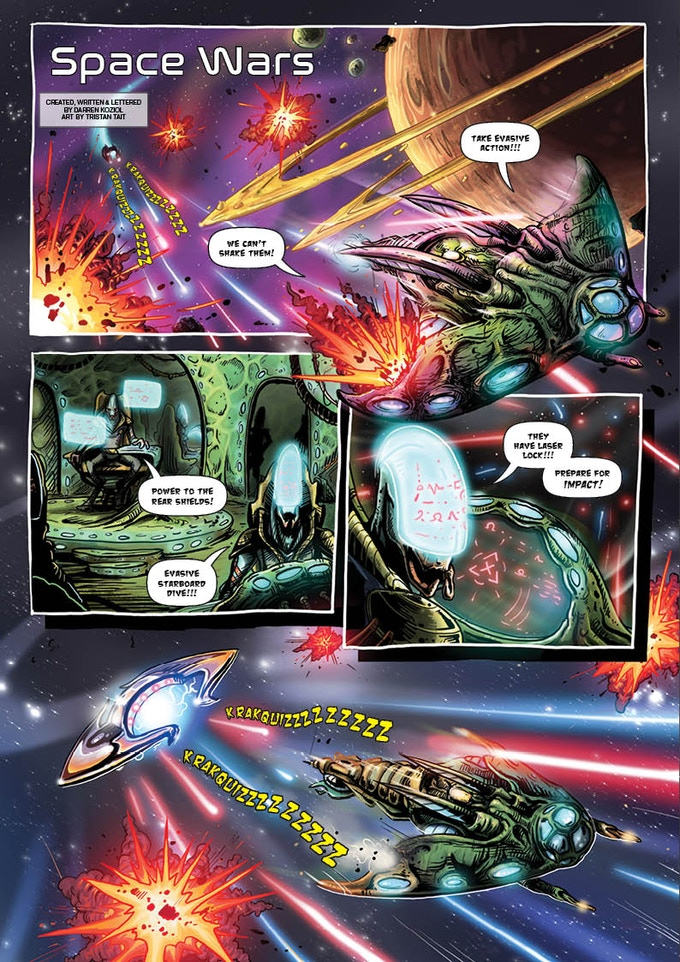 Space Wars - issue 5