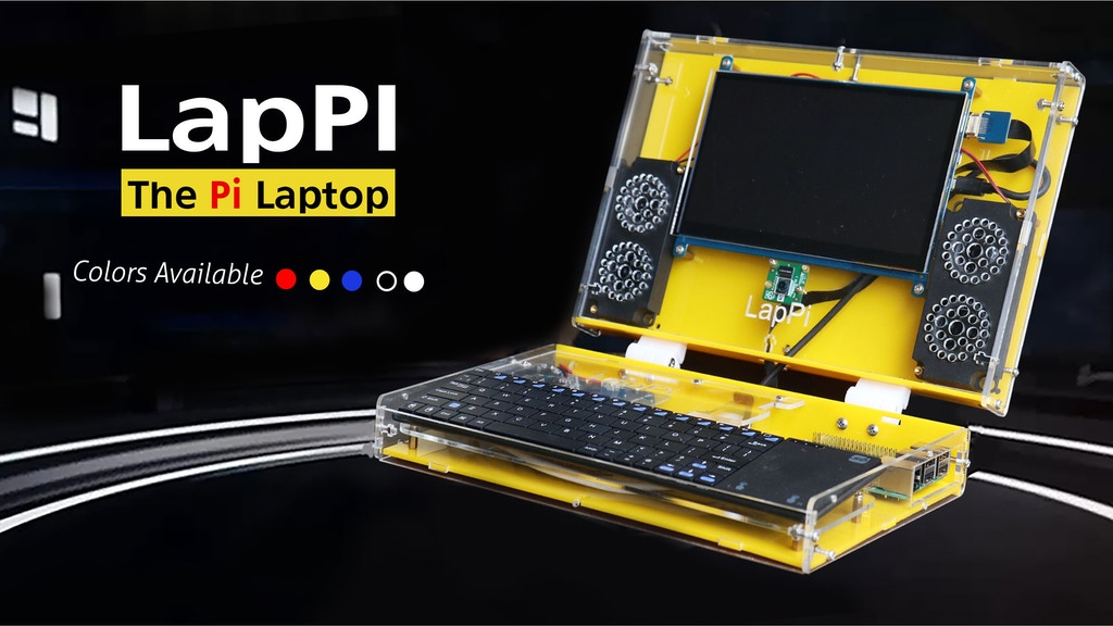LapPi: DIY Laptop for Raspberry Pi project video thumbnail