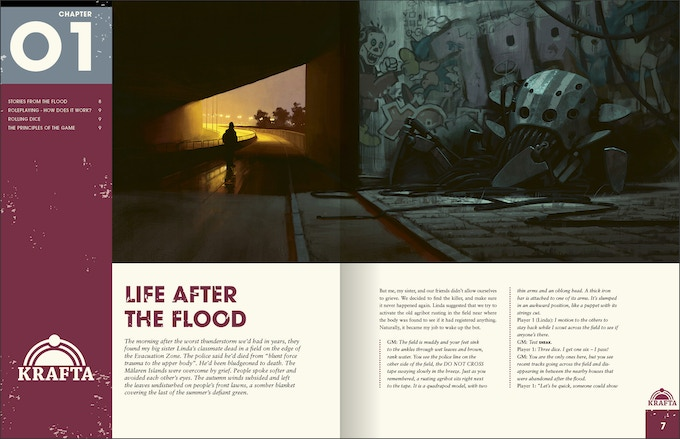 Things from the Flood - Sequel to Tales from the Loop RPG by