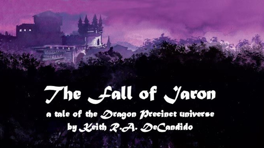 """The Fall of Iaron""--a tale of the Dragon Precinct universe project video thumbnail"