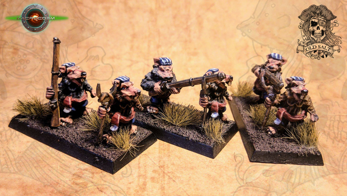 Long Rifle Support £12 for the 3 sets of 2 miniatures