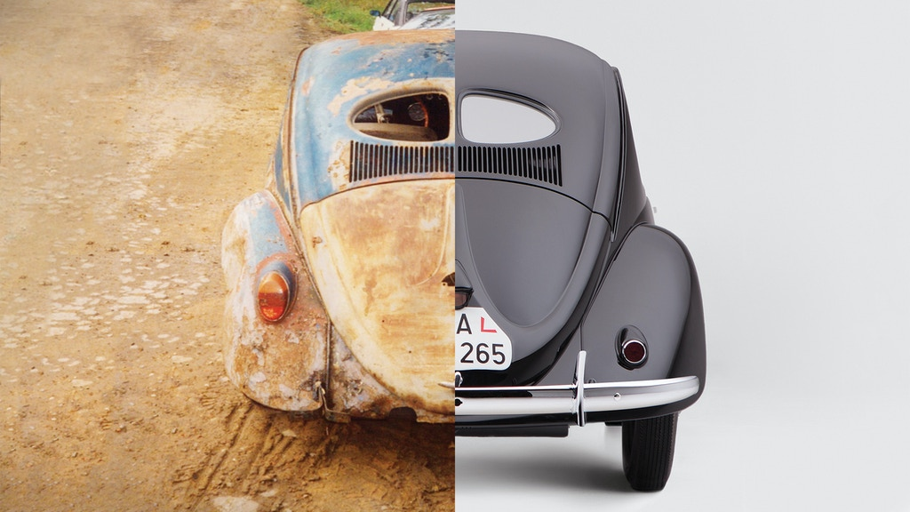 Renovation & History of 1941 Volkswagen Beetle project video thumbnail