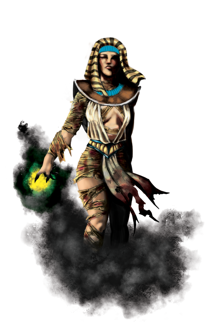 The Stygian Mummy by Christian Martinez