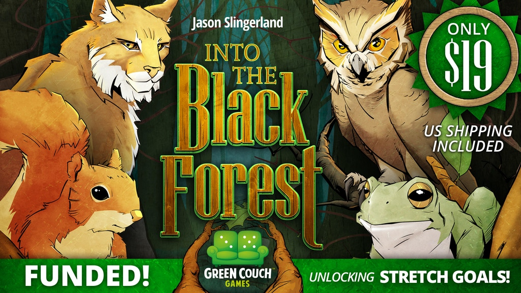 Into The Black Forest from Green Couch Games! project video thumbnail