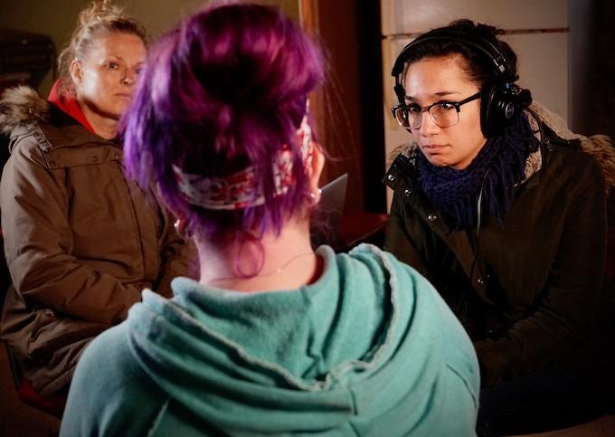 Elle & Samira interviewing Jessica R