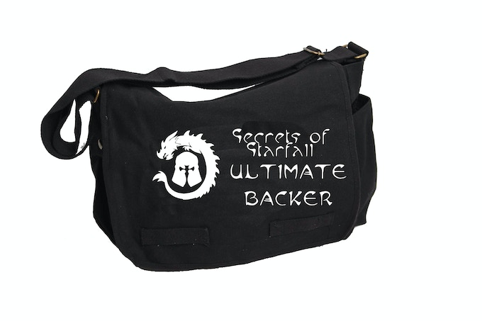 Ultimate Backer optional lettering