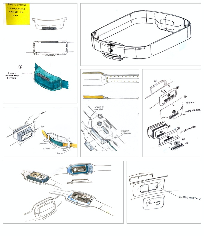 HeadLamp Process Sketches