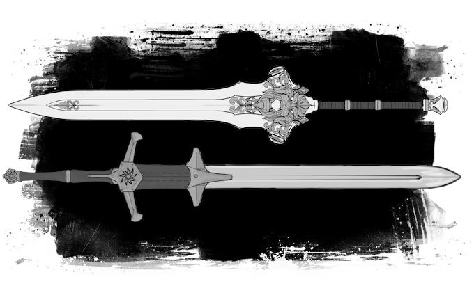 Two handed sword Concept art