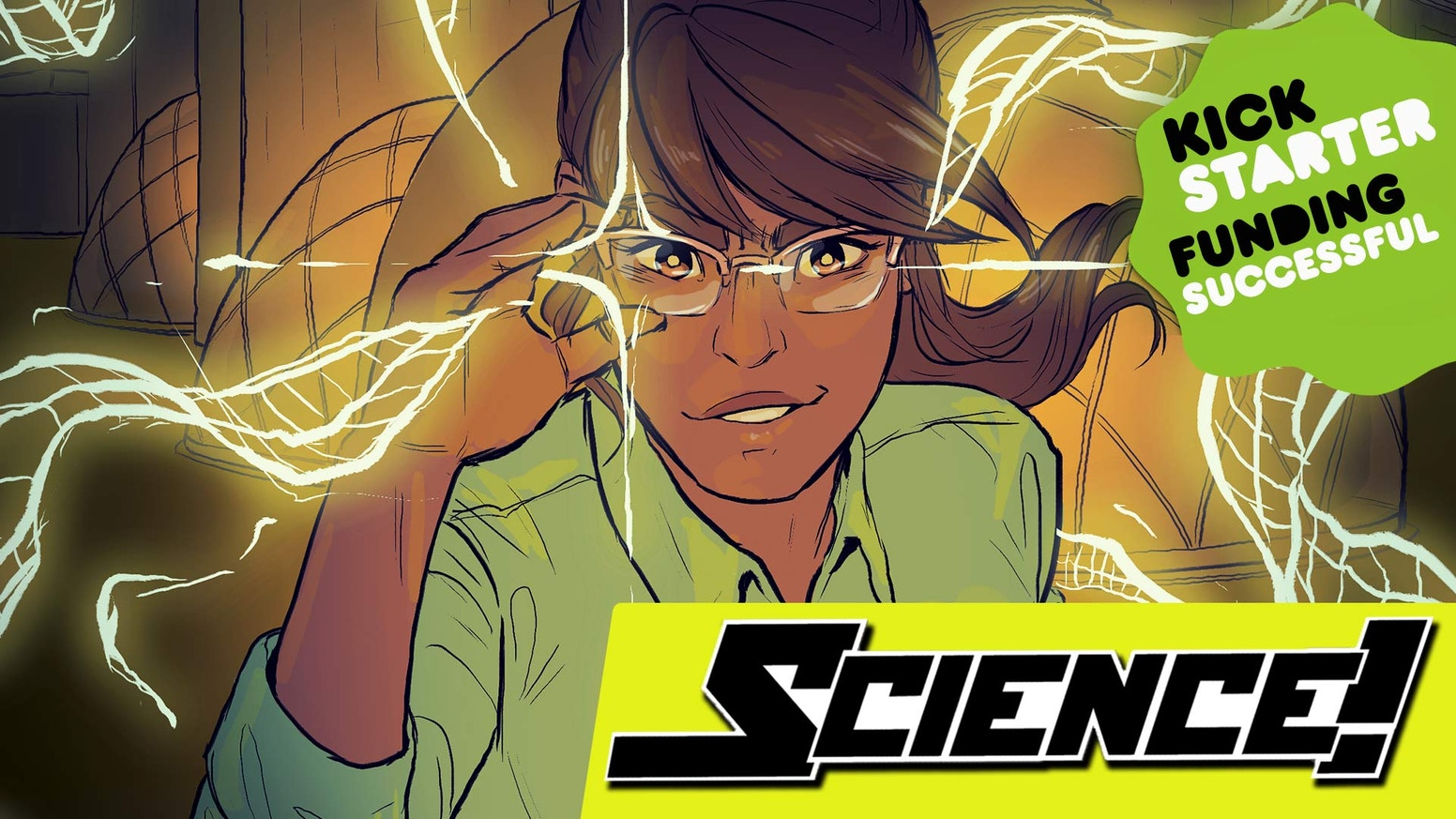 Breaking through dimensions during class is just a normal day at the ultimate SCIENCE school in this 80 page graphic novel.