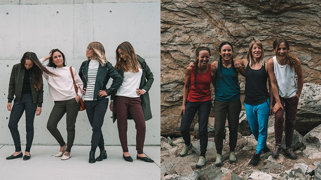 THE WOMEN'S BRISE PANT : A modern outdoor pant. project video thumbnail