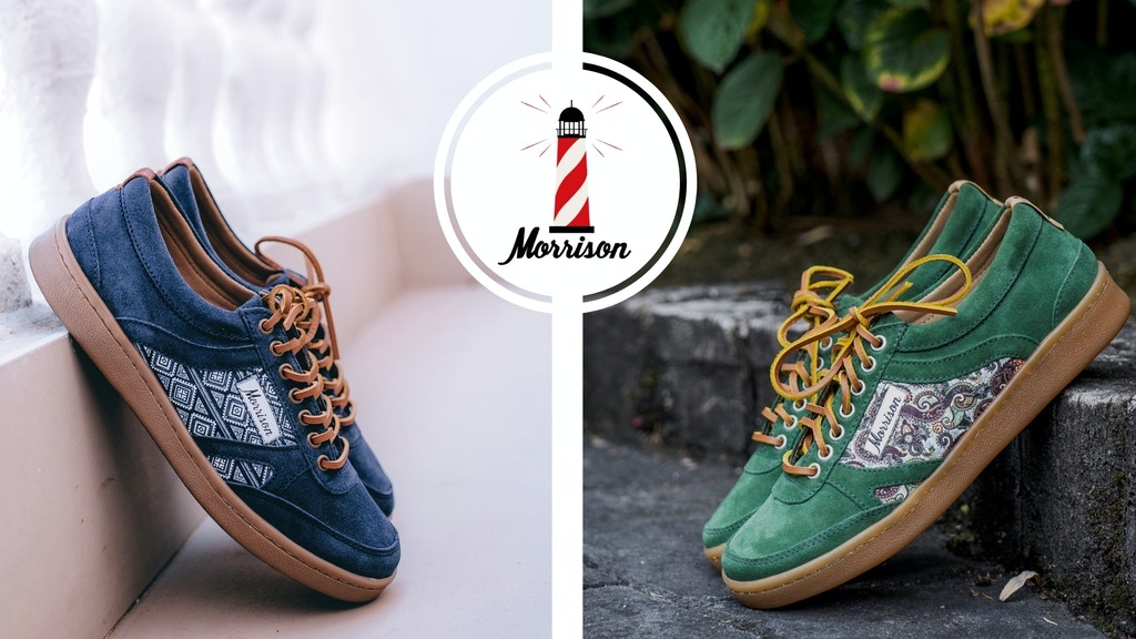 Morrison: Unique & Original Sneakers inspired by the 90´s project video thumbnail