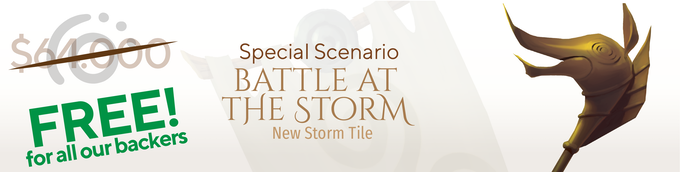 Special Scenario: Battle at the Storm + Tile Special Scenario: Battle at the Storm + Tile