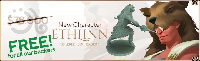Ethlinn: new character