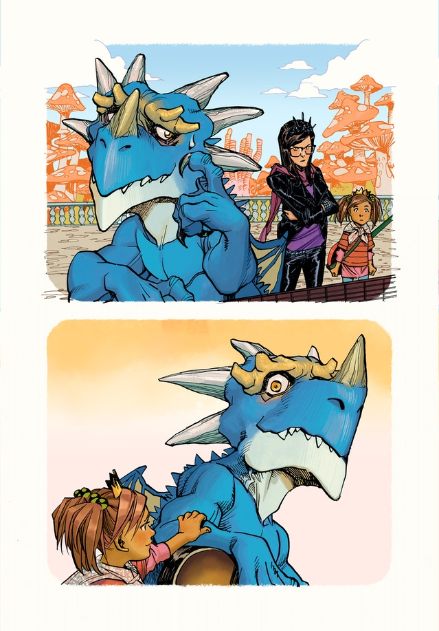 But sometimes your friend might be mean to your dragon buddy...