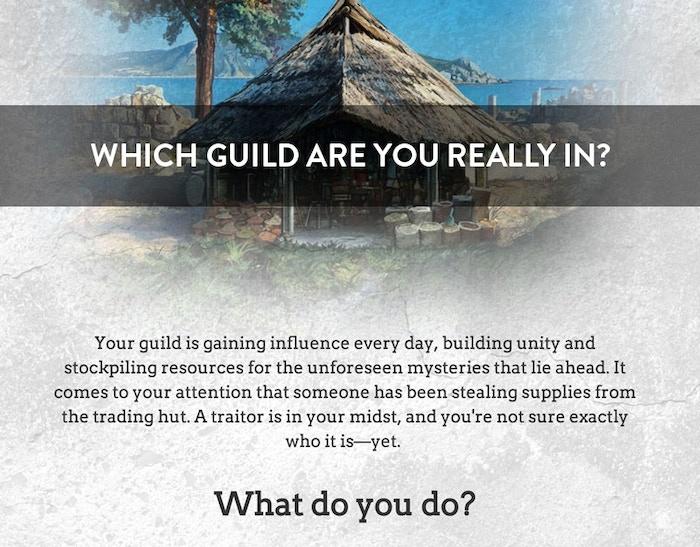 Do you dare take the Guild Assessment Quiz?