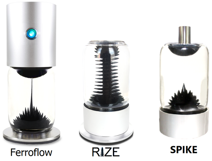 SPIKE Ferrofluid Display by Matt Robison — Kickstarter