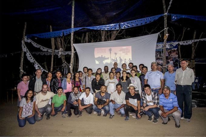 Proyecciones Rumbo a FicMayab' en Guatemala