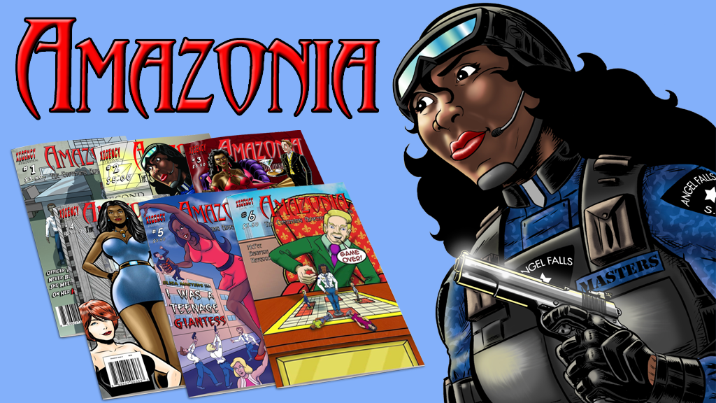 Amazonia Issues #1 - 6: The Mythical Amazonian Cop project video thumbnail