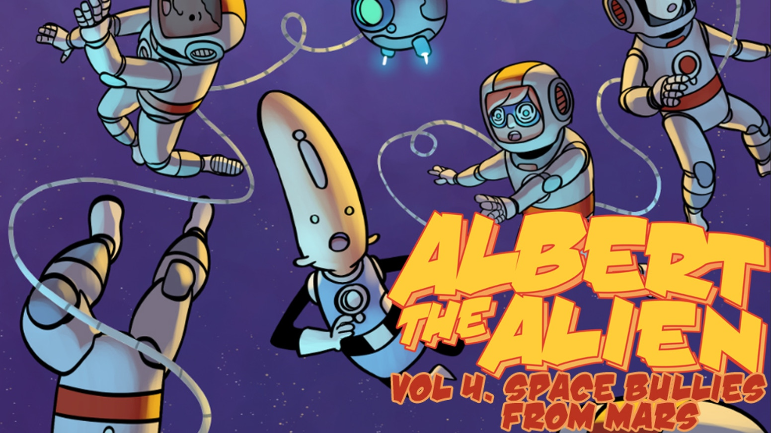 The final volume of Albert the Alien! The epic adventure of the first foreign exchange student from another planet ends here!