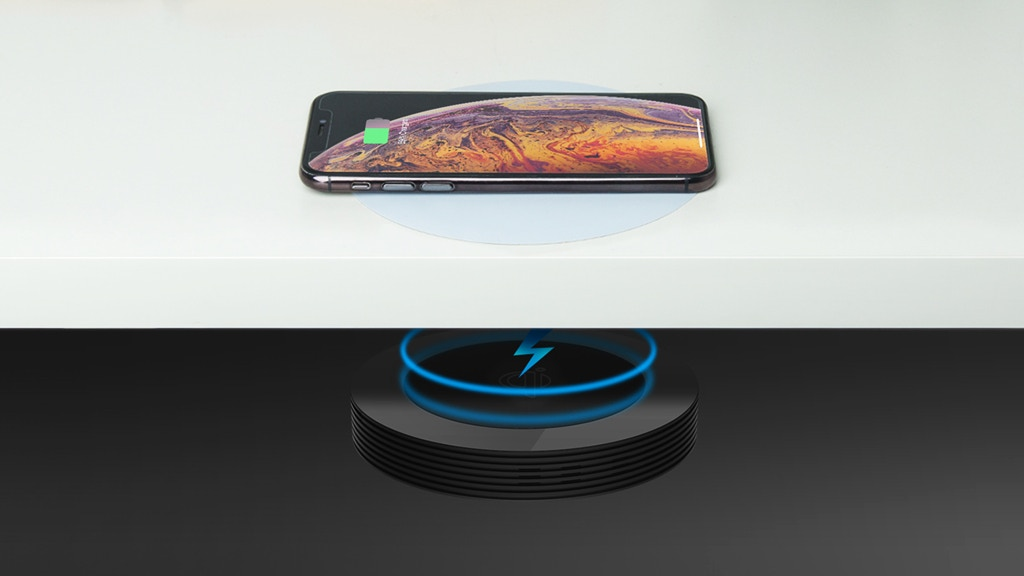 The World's First Truly Wireless Charger project video thumbnail
