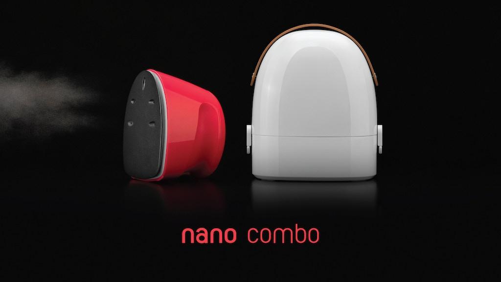 nano combo - World's 1st NANO STEAM Iron Combo project video thumbnail