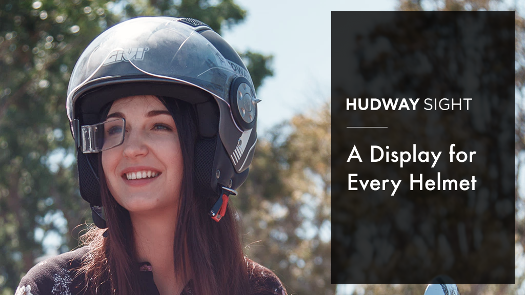 HUDWAY Sight: A Display for Every Helmet