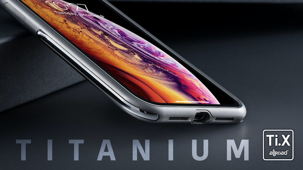 Titanium case for iPhone X/Xs/Xs Max by AllRoad Mobile