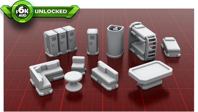 Barracks Items