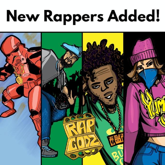 Bonus Rappers Added to Kickstarter