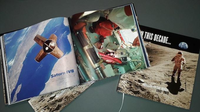 """50 Years Moonlanding // Kickstarter Book """"In this decade.."""""""