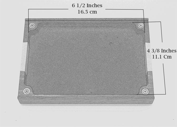 Dice Tray Dimensions