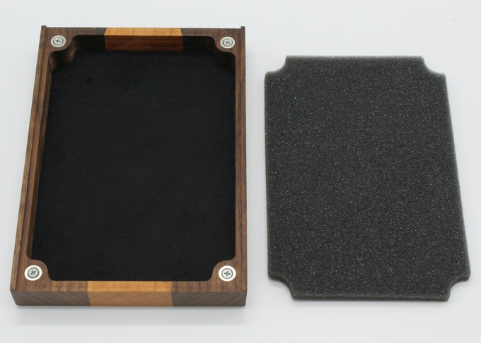 Dice Tray with storage foam removed