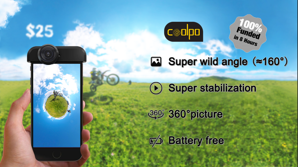 Coolpo: The only all-in-one phone stabilizer you want project video thumbnail