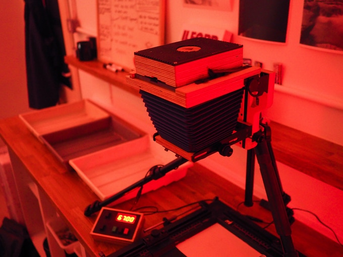 Intrepid 4x5 Enlarger - print & scan 35mm, 120 & 4x5 film by The