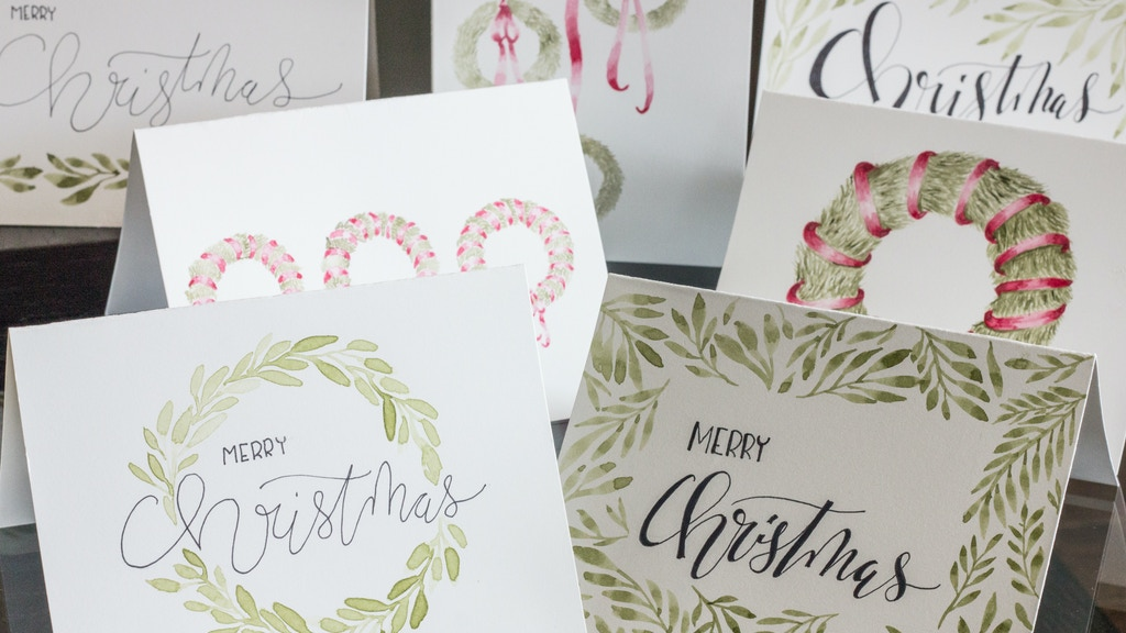 Quickstarter: Watercolour Christmas Card Sets by Tarryn Sanders ...