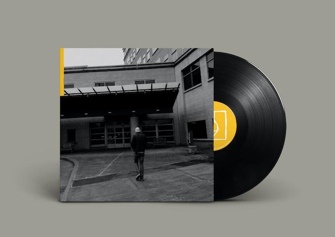 "A mock up of the 12"" vinyl of Locked Doors."