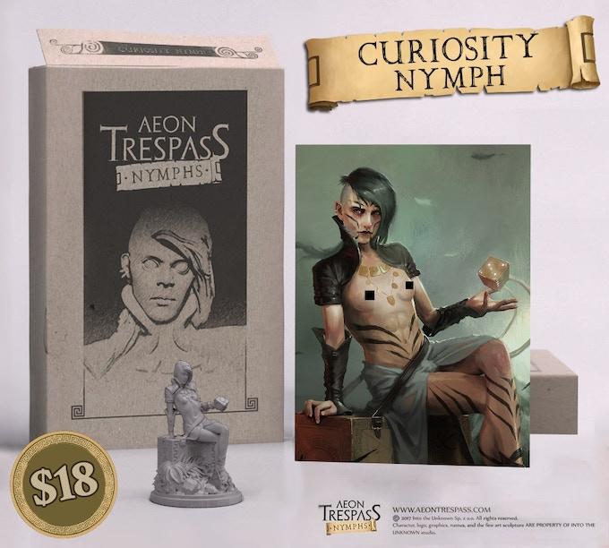 Curiosity Nymph Encore set