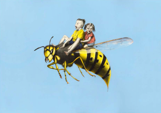 """KIRSTY WHITEN """"HOW TO ESCAPE FROM A WASP (SHOW NO FEAR)"""" (ORIGINAL)"""