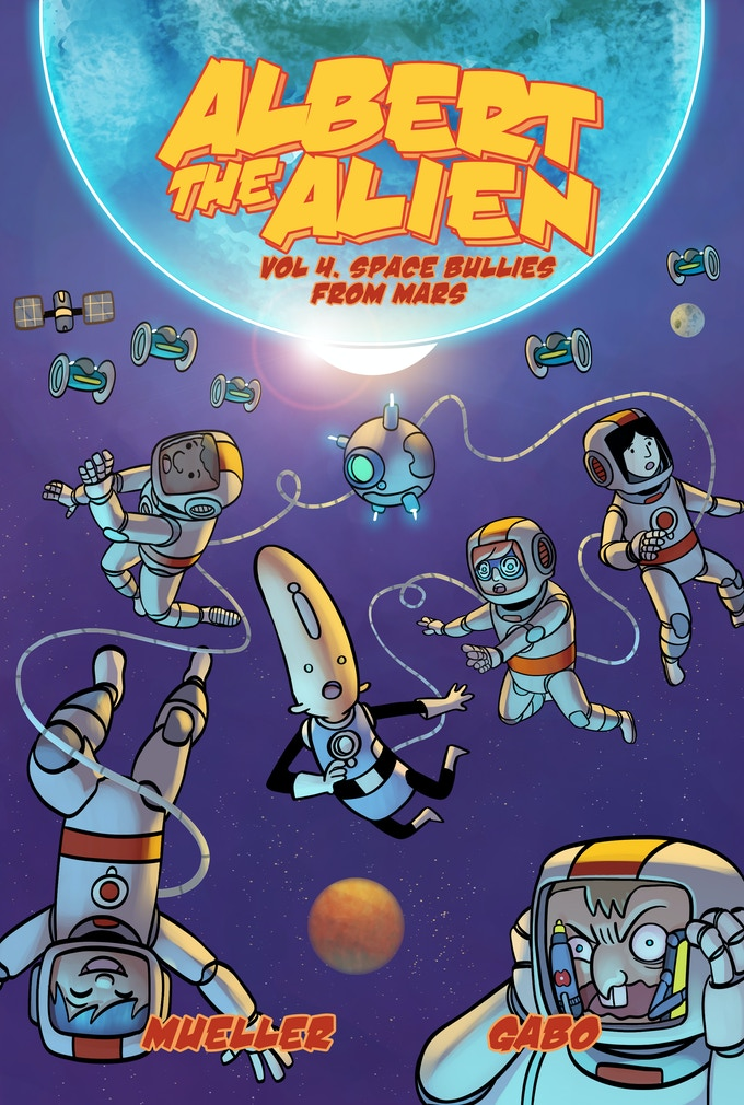 The cover for volume 4, with art and colors by Gabo