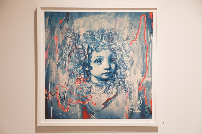 """JAMES JEAN """"PENELOPE AND THE SUCCULENT"""" #1 (edition of 100)"""