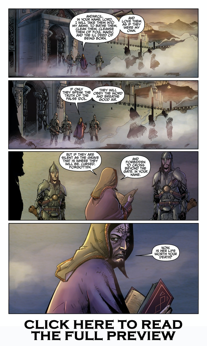 CLICK to view the Niobe #2 Preview