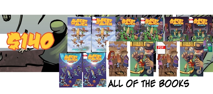 $140 - Volumes 1-4 paperback and digital, single issues in print and digital