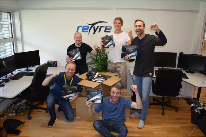 We celebrate the arrival of the first reTyre Alpha products.