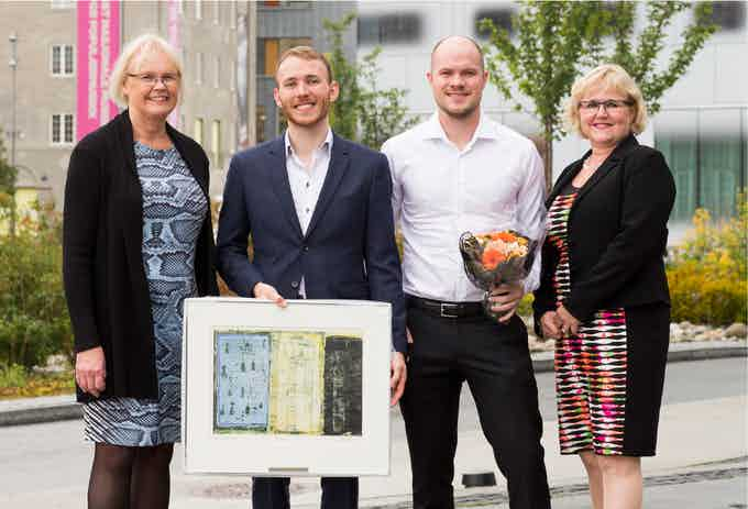Winner of adolf øiens stipend for best new entrepreneur