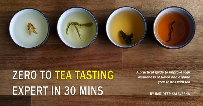 A simple and effective guide to understanding flavor and experiencing it with tea