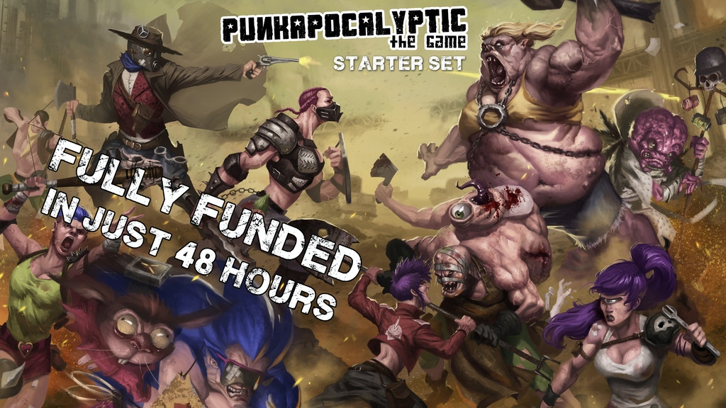 Punkapocalyptic - Starter Set project video thumbnail