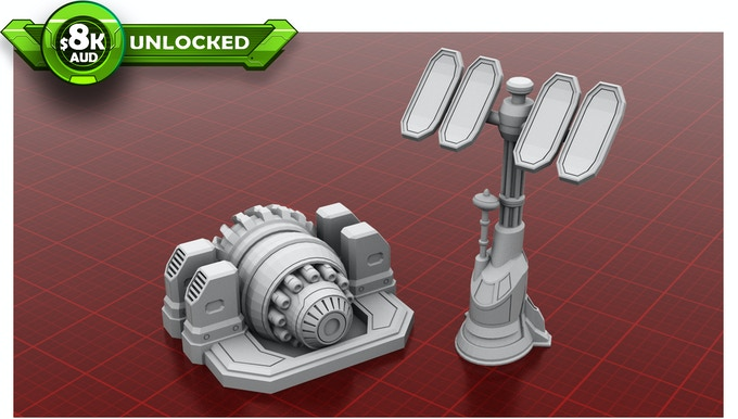 Comms Tower & Shield Generator