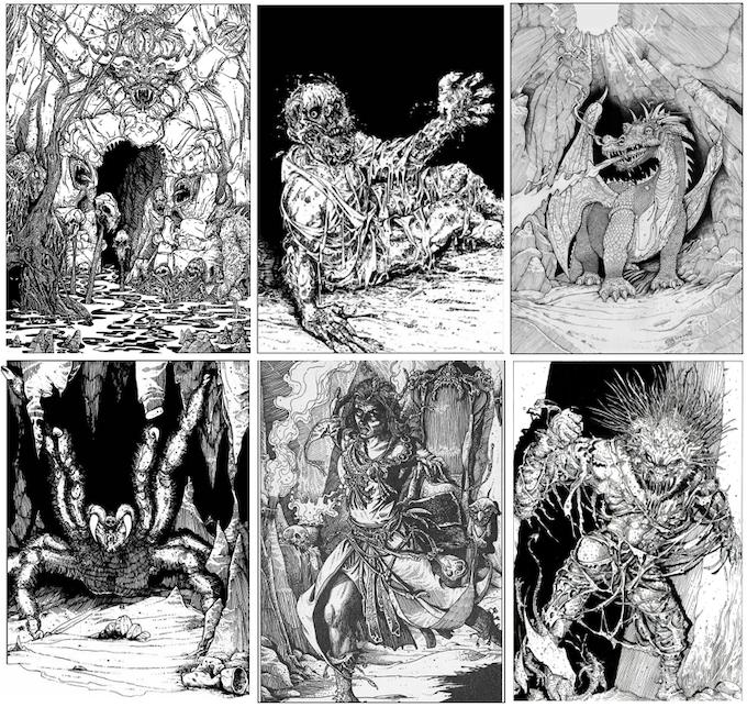 Beowulf Beastslayer By Jonathan Green Kickstarter
