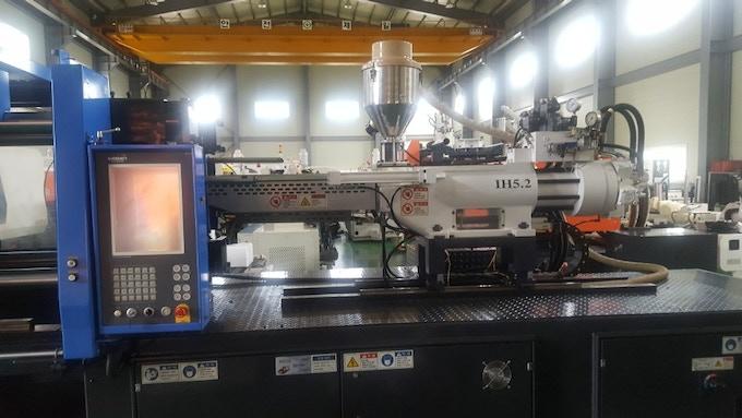 Machine used to produce the main plastic enclosure