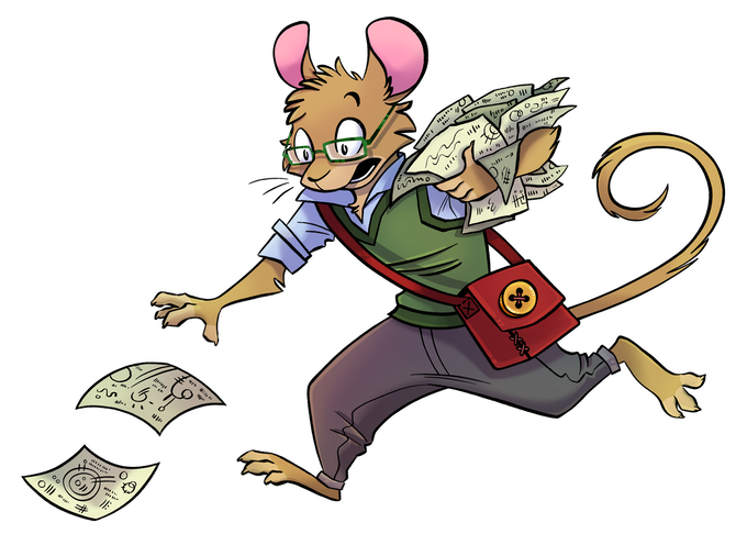 Unlike many RPGs, Rodent Rangers doesn't require your hero to be a fighter. You can save the day as a scholarly expert too!